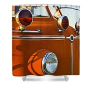 1954 Classic American Lafrance Type 700 Pumper Fire Engine Shower Curtain