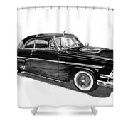 1954 Ford Skyliner Shower Curtain