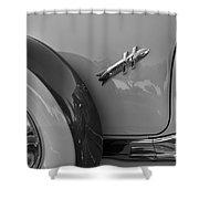 1954 Hudson Hornet Shower Curtain