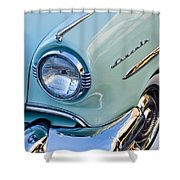 1954 Lincoln Capri Headlight Shower Curtain