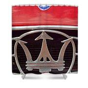 1954 Maserati A6 Gcs Emblem Shower Curtain