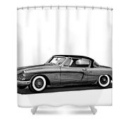 1954 Studebaker Skyliner Shower Curtain