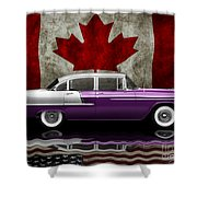 1955 Bel Air Patriot Shower Curtain