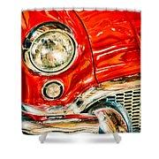 1955 Buick Century Shower Curtain