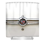 1955 Buick Special Tail Emblem Shower Curtain