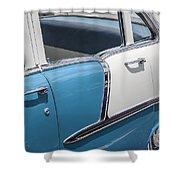 1955 Chevrolet 4 Door Shower Curtain
