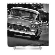 1955 Chevy Bel Air Shower Curtain