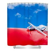 1955 Chevy Shower Curtain