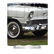1956 Chevy Nomad  Shower Curtain