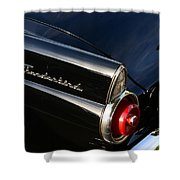 1955 Ford Thunderbird Shower Curtain