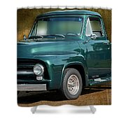 1955 Ford Truck Shower Curtain