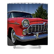 1955 Hudson Wasp Shower Curtain