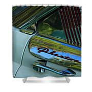 1955 Mercury Phaeton Shower Curtain