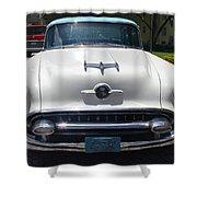 1955 Oldsmobile Ninety-eight Shower Curtain