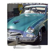 1955 Studebaker Coupe 1 Shower Curtain