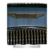 1956 Austin-healey Grill Hood Ornament Shower Curtain