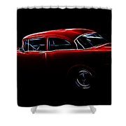 1956 Buick Special Shower Curtain