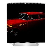 1956 Buick Shower Curtain