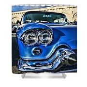 1956 Cadillac Eldorado  Shower Curtain