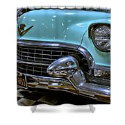 1956 Cadillac Lasalle Shower Curtain