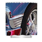 1956 Chevrolet Handyman Wagon Wheel -179c Shower Curtain