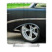 1956 Chevrolet Rear Emblem Shower Curtain