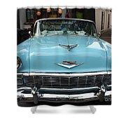 1956 Chevy Bel-air Shower Curtain