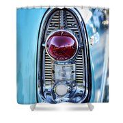 1956 Chevy Bel-air Taillight  Shower Curtain