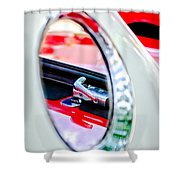 1956 Ford Thunderbird Latch -417c Shower Curtain