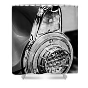 1956 Ford Thunderbird Taillight -247bw Shower Curtain