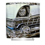 1956 Packard Caribbean Grill Shower Curtain
