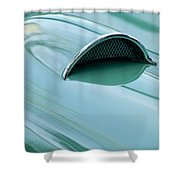 1957 Chevrolet Corvette Scoop 2 Shower Curtain