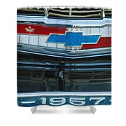 1957 Chevy Front Shower Curtain
