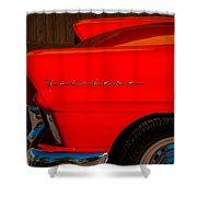 1957 Ford Fairlane Emblem -359c Shower Curtain