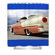 1957 Ford Fairlane Lowrider Shower Curtain