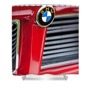 1958 Bmw 3200 Michelotti Vignale Roadster Grille Emblem -2414c Shower Curtain