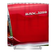 1958 Bmw 3200 Michelotti Vignale Roadster Grille Emblem -2467c Shower Curtain