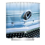 1958 Buick Roadmaster 75 Convertible Grille Emblem Shower Curtain