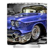 1958 Cadillac Deville Shower Curtain