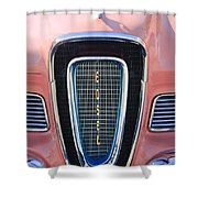 1958 Edsel Pacer Grille Emblem Shower Curtain