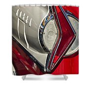 1958 Edsel Wagon Tail Light Shower Curtain