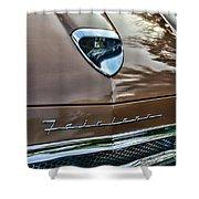 1958 Ford Fairlane 500 Skyliner Shower Curtain