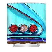 1958 Impala Palm Springs Shower Curtain