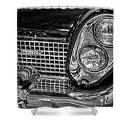 1958 Lincoln Continental Headlight Shower Curtain