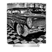 1958 Lincoln Continental Mk IIi Shower Curtain