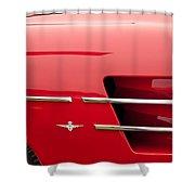 1958 Pegaso Z-103 Touring Berlinetta Side Emblem -1195c Shower Curtain