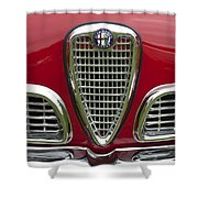 1959 Alfa Romeo Giulietta Sprint Grille Shower Curtain