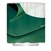 1959 Aston Martin Db4 Gt Hood  Shower Curtain