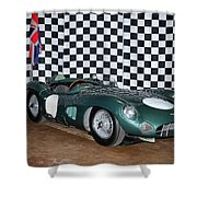 1959 Aston Martin Dbr1 Shower Curtain