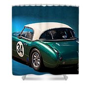1959 Austin Healey 3000 Mk1 Shower Curtain